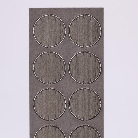 Plaque d'extrémité 12,4 mm (10 pièces) Joswood JW40016 - MAKETIS