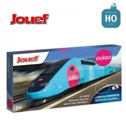 Coffret Junior analogique SNCF TGV Ouigo HO Jouef HJ1042 - Maketis