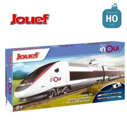 Coffret Junior analogique TGV Duplex HO Jouef HJ1060 - Maketis