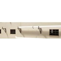 Support mural pour tuyaux 10 mm (10 pièces)