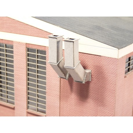Gaines de ventilation, rectangulaires, 2 pièces Joswood JW40022 - MAKETIS