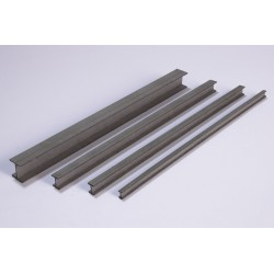 Steel girder, 150 x 6 x 6 mm, 4 pieces