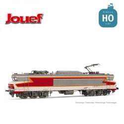 Locomotive électrique CC6543 Béton Rouge SNCF Ep V Digital son HO Jouef HJ2370S - Maketis