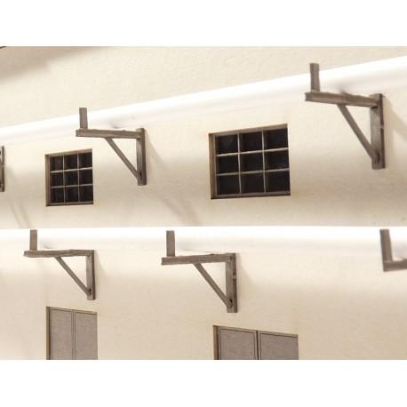 Support mural pour tuyaux 19 mm (10 pièces) Joswood JW40044 - MAKETIS