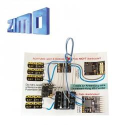 Contrôleur StayAlive (stockage énergie) pour décodeurs MX ou MS Zimo STACO1 - Maketis