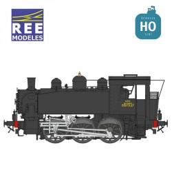 Locomotive à vapeur 030 TU OUEST, Dépôt de NANTES - Digitale Son - Fumigène Seuthe HO REE MB-045 S