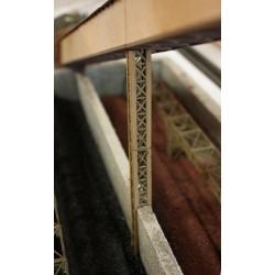 Poutrelle de treillis, 12 x 12 mm, 2 pièces