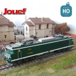 Locomotive électrique CC6550 Vert jaune SNCF Ep IV Digital son HO Jouef HJ2371S - Maketis