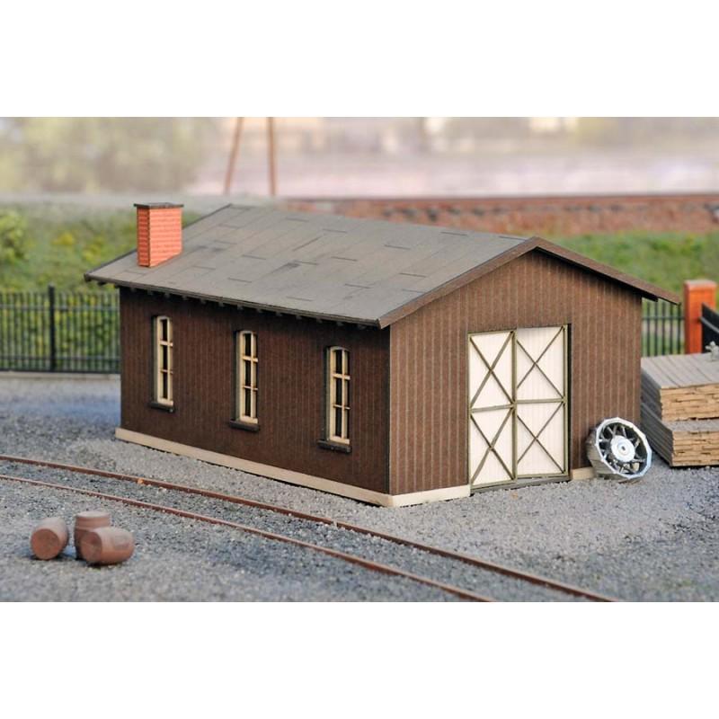 Abri en bois petit atelier gamme joswood industrie ho for Petit abri bois
