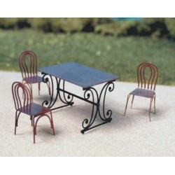 Chaises pour table rectangulaire