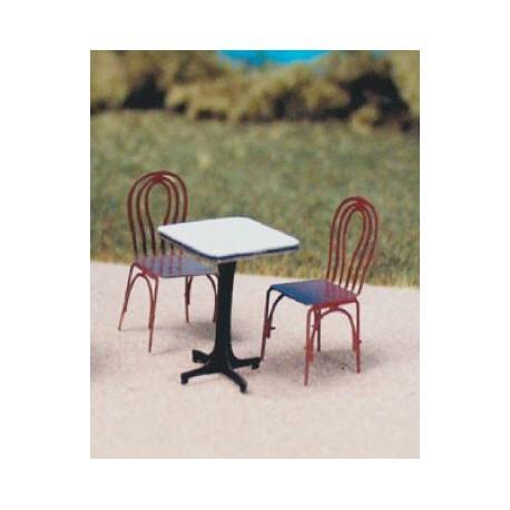 "Table ""bistrot"" carrée"