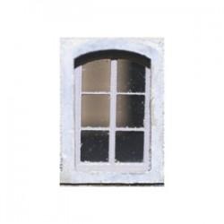 Fenêtre demi-ronde