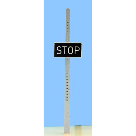 Panneau fixe Stop