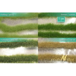Long strip of grass HO (1/87) 336 cm Mininatur 728-2x