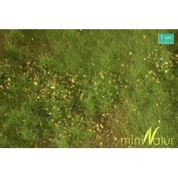 Fertile plain meadow with weeds 25x15,5 cm HO/O Mininatur 734-2x S