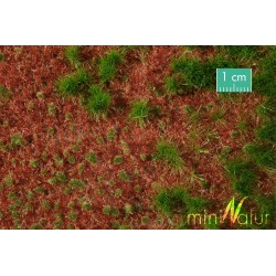 Overgrown forest groundcover 31,5x25 cm HO Mininatur 741-2x S