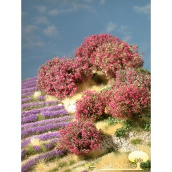 Rhododendron (7 Stücken) HO/O Silhouette 253-0x