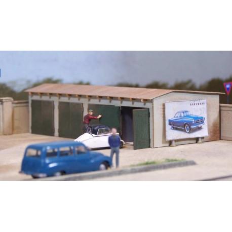Garage quadruple