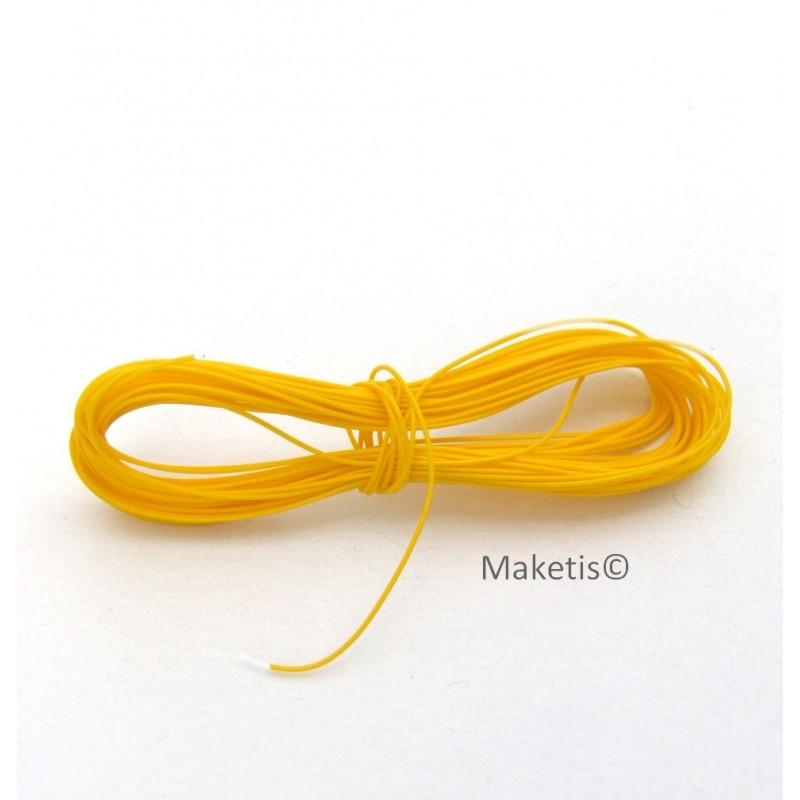 Bobine de 5 m de fil lectrique pour mod lisme ferroviaire - Bobine fil electrique ...