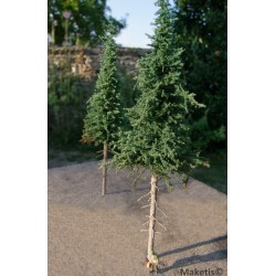Set de 2 sapins hautes tiges