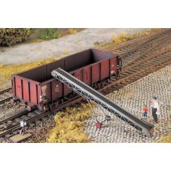 Sauterelle pour chargement wagon Weinert, en métal blanc et photogravure