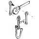 Attelage standard, 2 pièces, HO Weinert 8630