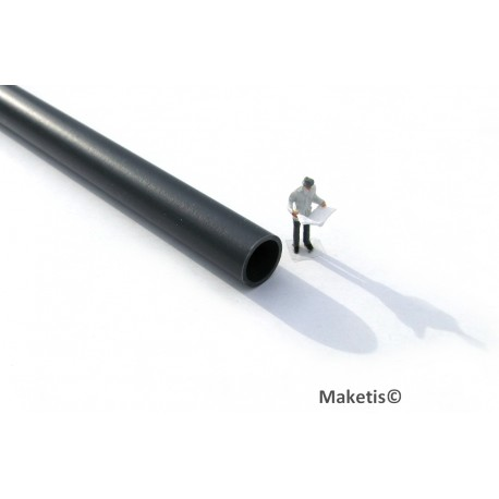 Pipe, ca 30cm, 12,4mm Joswood JW40202 - MAKETIS