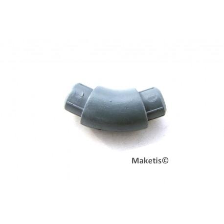 Coude 45° pour conduite diamètre 12,4mm Joswood JW40206 - MAKETIS
