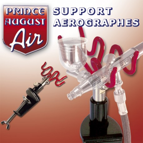 Support Aérographes Prince August PAAAG10 - MAKETIS