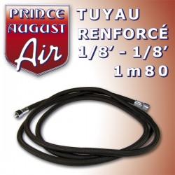 Tuyau renforcé1/8'-1/8' 1m80 Prince August