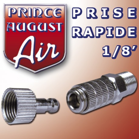 Prise Rapide 1/8' Prince August PAAAG50 - MAKETIS