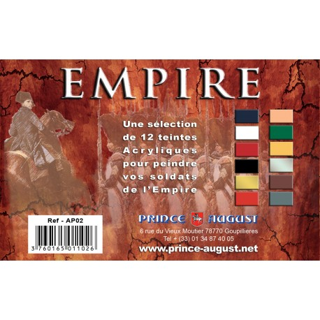 Pack Empire 12 Teintes PAAP02 - MAKETIS