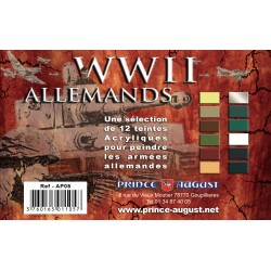 Pack WWII Allemands 12 Teintes
