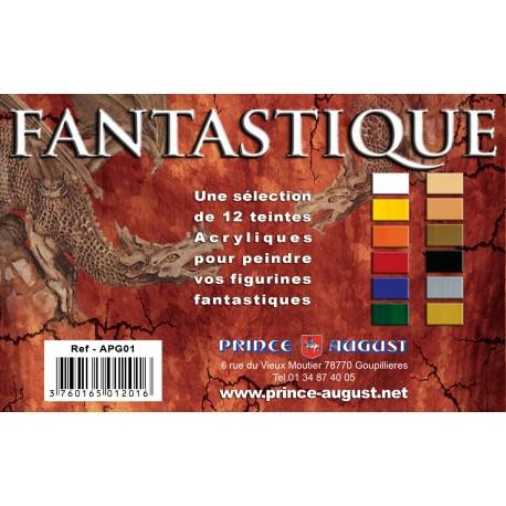 PackFantastique 12 Teintes PAAPG01 - MAKETIS