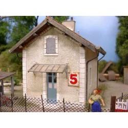 Maison de garde barrières PLM Zebulon ZE40205 - MAKETIS