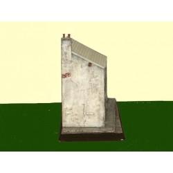 Demi pignon avec cheminée Zebulon ZE87610 - MAKETIS