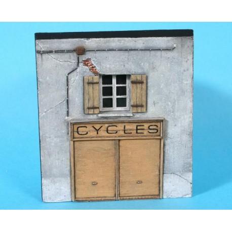 Façade boutique Cycles Zebulon ZE87629 - MAKETIS
