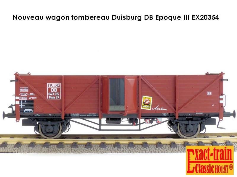 Wagon tombereau Duisburg
