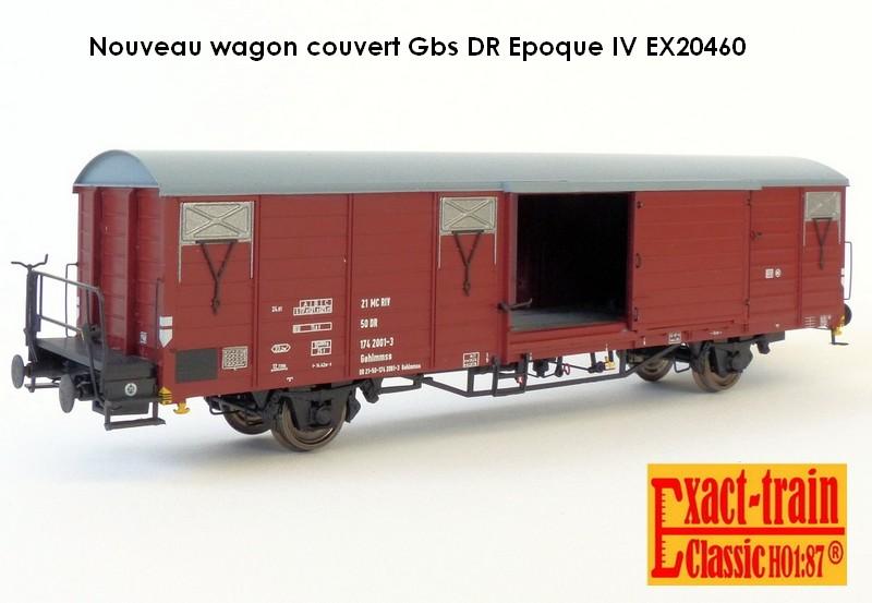 Wagon couvert Gbs
