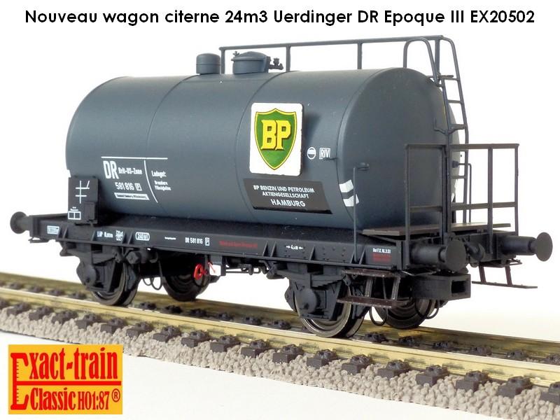 Wagon citerne 24m3