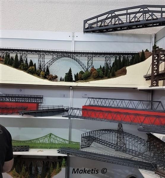 Pont métallique Hack Brücken