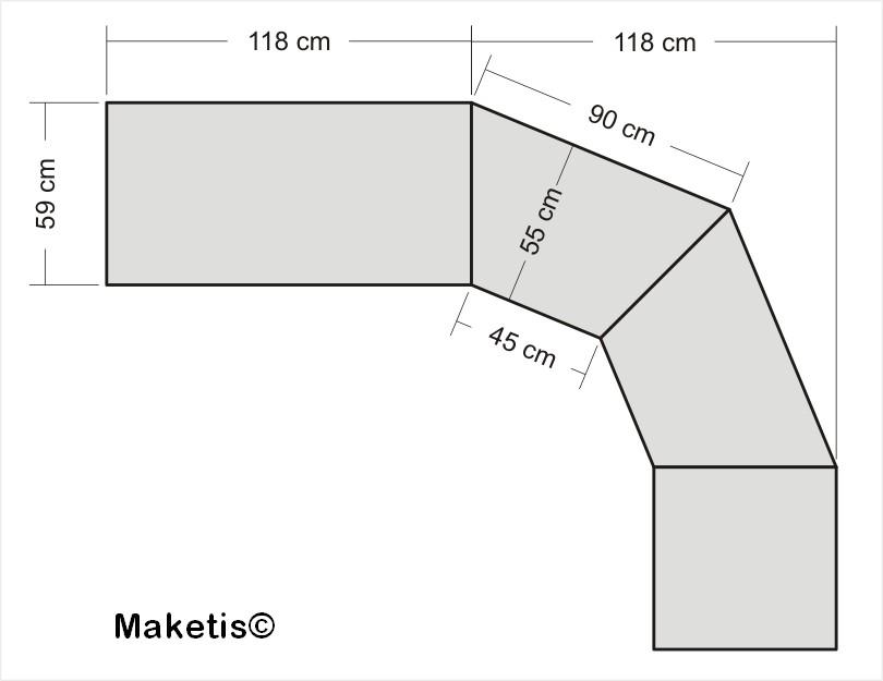 Module angle 45