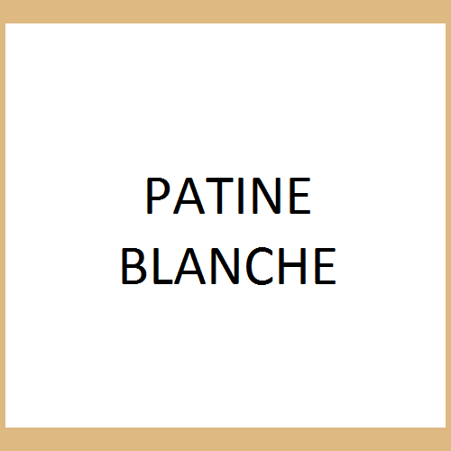 Patine Blanche - PAP853
