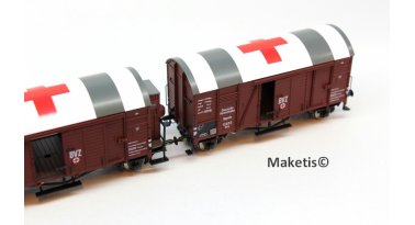 A nice selection of new Oppeln car Exact Train in scale HO/OO