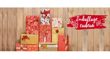 Maketis propose un emballage cadeau pour vos achats de Noël