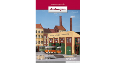 The Auhagen 2018 novelties are coming soon