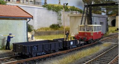 Les wagonnets de draisine DU 65 REE en HO disponibles prochainement.