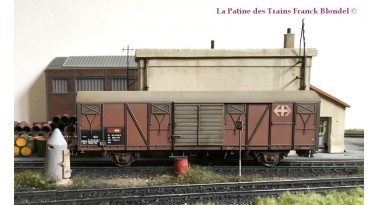 Maketis propose his first Rolling Stock version with weathering effects in collaboration with Franck Blondel