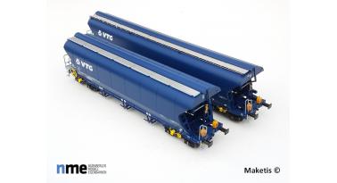 NME propose un deuxième wagon céréalier avec feux de fin de convoi SNCF