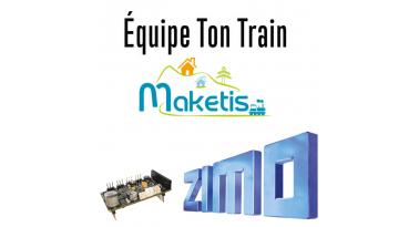 Maketis et Equipe Ton Train en partenariat, pour un meilleur service en digital avec les décodeurs ZIMO.
